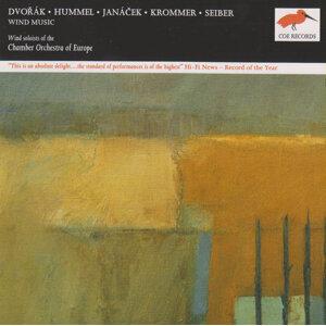 Dvořák, Janáček, Seiber, Hummel, Krommer: Music for Wind Ensemble