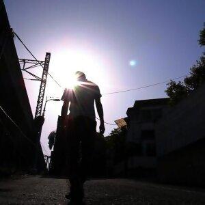 歩幅と太陽