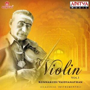 Violin - Kunnakkudi Vaidyanathan, Vol. 1