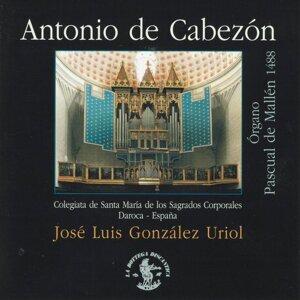 Antonio de Cabezón: Órgano Pascual de Mallén 1488 - Colegiata de Santa Marìa de los Sagrados Corporales - Daroca - Spain