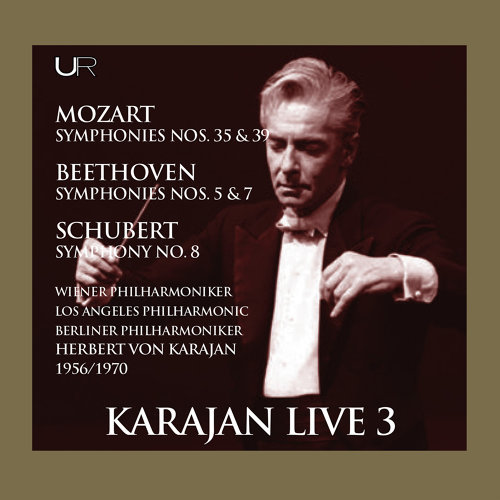 Mozart, Beethoven & Schubert: Orchestral Works (Live)