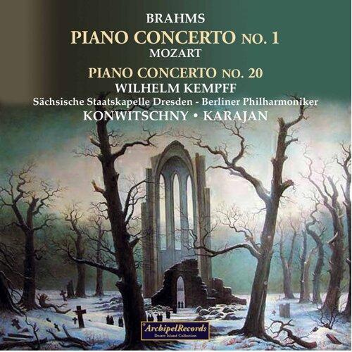 Wilhelm Kempff plays Brahms and Mozart