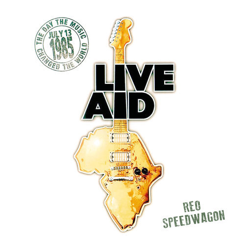 REO Speedwagon at Live Aid - Live at John F. Kennedy Stadium, 13th July 1985