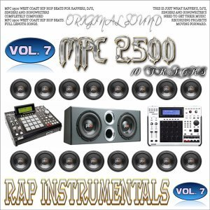 Mpc 2500 Rap Instrumentals, Vol. 7