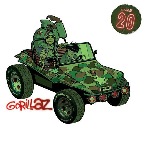 Gorillaz - Gorillaz 20 Mix