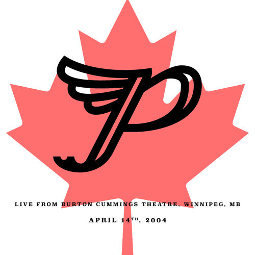 Live from Burton Cummings Theatre, Winnipeg, MB. April 14th, 2004