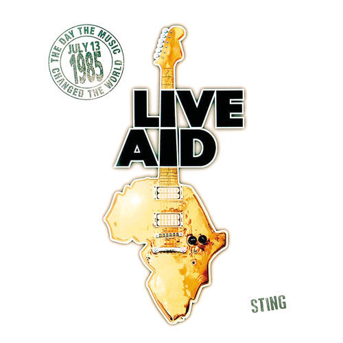 Sting at Live Aid - Live at Wembley Stadium, 13th July 1985