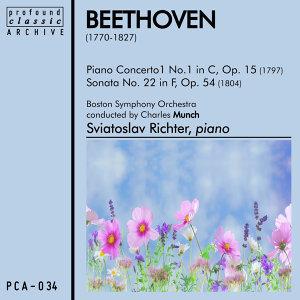 Piano Concerto No. 1 in C, Op. 15 and Sonata No. 22 in F, Op. 54