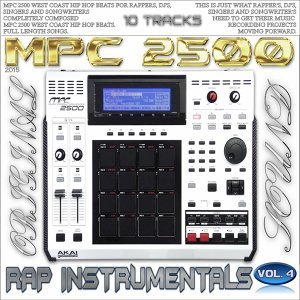 Mpc 2500 Rap Instrumentals, Vol. 4