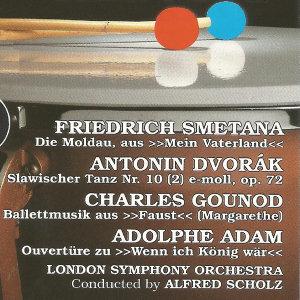Friedrich Smetana, Antonin Dvorák, Charles Gounod, Adolphe Adam