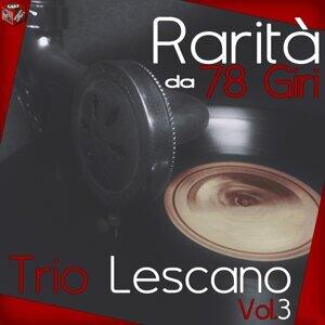 Rarita da 78 giri: Trio Lescano Vol. 3