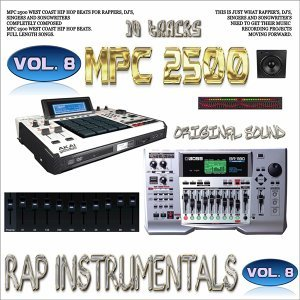 Mpc 2500 Rap Instrumentals, Vol. 8