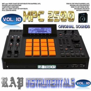 Mpc 2500 Rap Instrumentals, Vol. 10