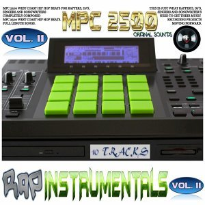 Mpc 2500 Rap Instrumental, Vol. 11