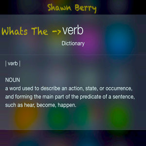 What's the Verb - Single