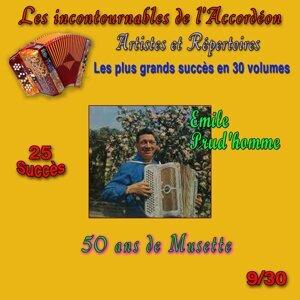 Les incontournables de l'accordéon, vol. 9 (50 ans de musette) [25 succès]