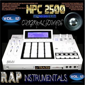 Mpc 2500 Rap Instrumetals, Vol. 12