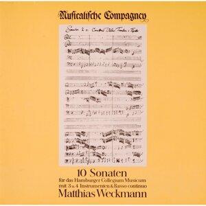 Weckmann: 10 Sonaten für das Hamburger Collegium Musicum