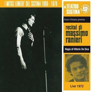 Recital di Massimo Ranieri - I lunedì del sistina - live 1972