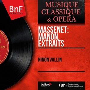 Massenet: Manon, extraits - Mono Version