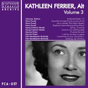 Kathleen Ferrier, Contralto, Vol. 3