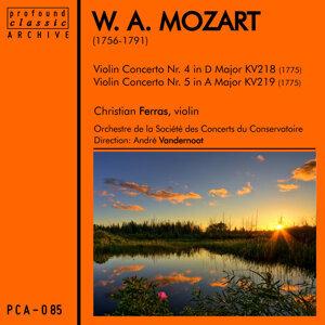 Mozart: Violin Concertos No. 4 in D Major, K. 218 & No. 5 in A Major, K. 219