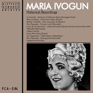 Maria Ivogun, Soprano