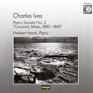 """Charles Ives: Piano Sonata No. 2 """"Concord, Mass., 1840-1860"""""""
