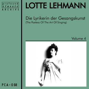 Die Lyrikerin der Gesangskunst, Vol. 4