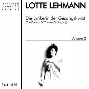 Die Lyrikerin der Gesangskunst, Vol. 2
