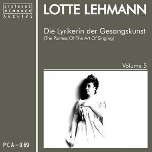 Die Lyrikerin der Gesangskunst, Vol. 5