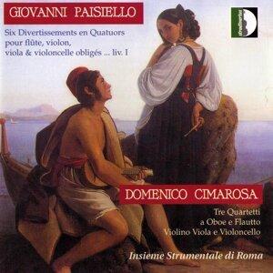Cimarosa, Paisiello: Quartetti Per Flauti E Archi
