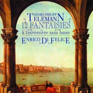 Telemann: 12 fantasies pour flûte traversière sans basse