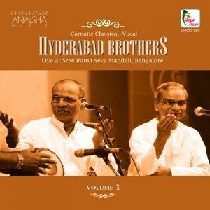 Hyderabad Brothers, Vol. 1 - Live at Sree Rama Seva Mandali, Bangalore