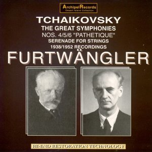 Tchaikovsky: Symphonies Nos. 4, 5 & 6 Pathetique, Serenade for Strings - 1938/1952 Recordings