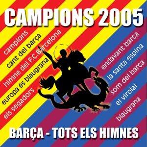Barça : Tots els himnes - Campion 2005