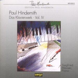 Paul Hindemith: Das Klavierwerk - Vol.4