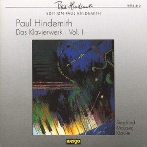 Paul Hindemith: Das Klavierwerk - Vol.1