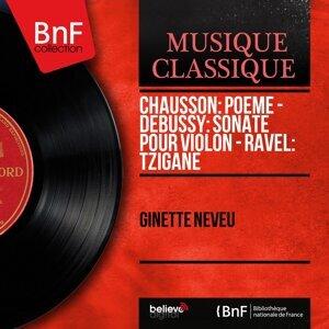 Chausson: Poème - Debussy: Sonate pour violon - Ravel: Tzigane - Mono Version