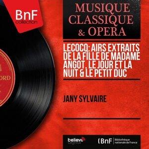 Lecocq: Airs extraits de La fille de madame Angot, Le jour et la nuit & Le petit duc - Mono Version