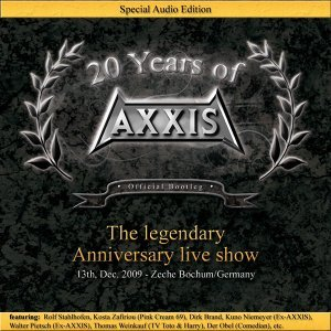 20 Years of Axxis - Live