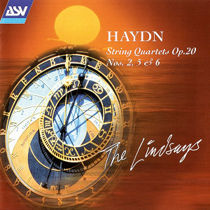 Haydn: String Quartets Op. 20 Nos. 2, 5 and 6