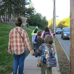 Walking to School - Single