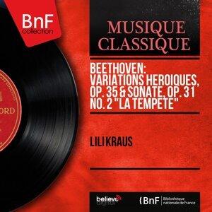 "Beethoven: Variations héroïques, Op. 35 & Sonate, Op. 31 No. 2 ""La tempête"" - Mono Version"