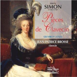 Simon Simon : Pièces de clavecin, Op. 1