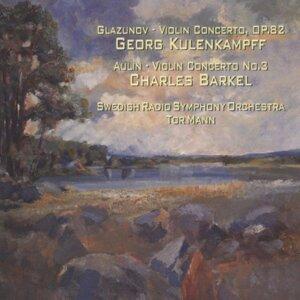 Glazunov, Aulin - Violin Concertos. Georg Kulenkampff, Charles Barkel