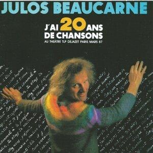 J'ai 20 ans de chansons - Au théâtre TLP Dejazet Paris, Mars 87
