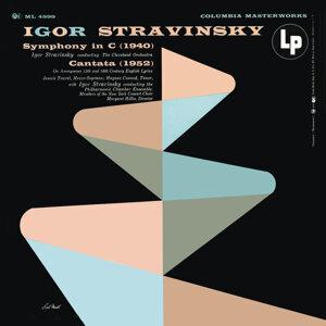 Stravinsky: Symphony in C & Cantata