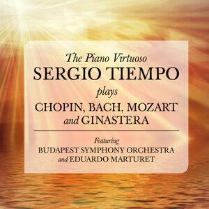 The Piano Virtuoso: Sergio Tiempo plays Chopin, Bach, Mozart and Ginastera