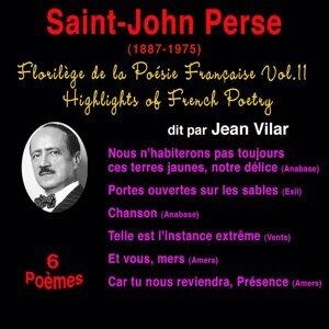 Florilège de la poésie française, vol. 11: Saint-John Perse (1887-1975) - 6 poèmes